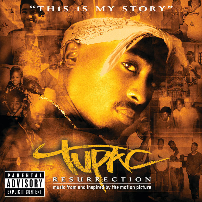 Cover 2Pac - Resurrection (Music From And Inspired By The Motion Picture) (Explicit)