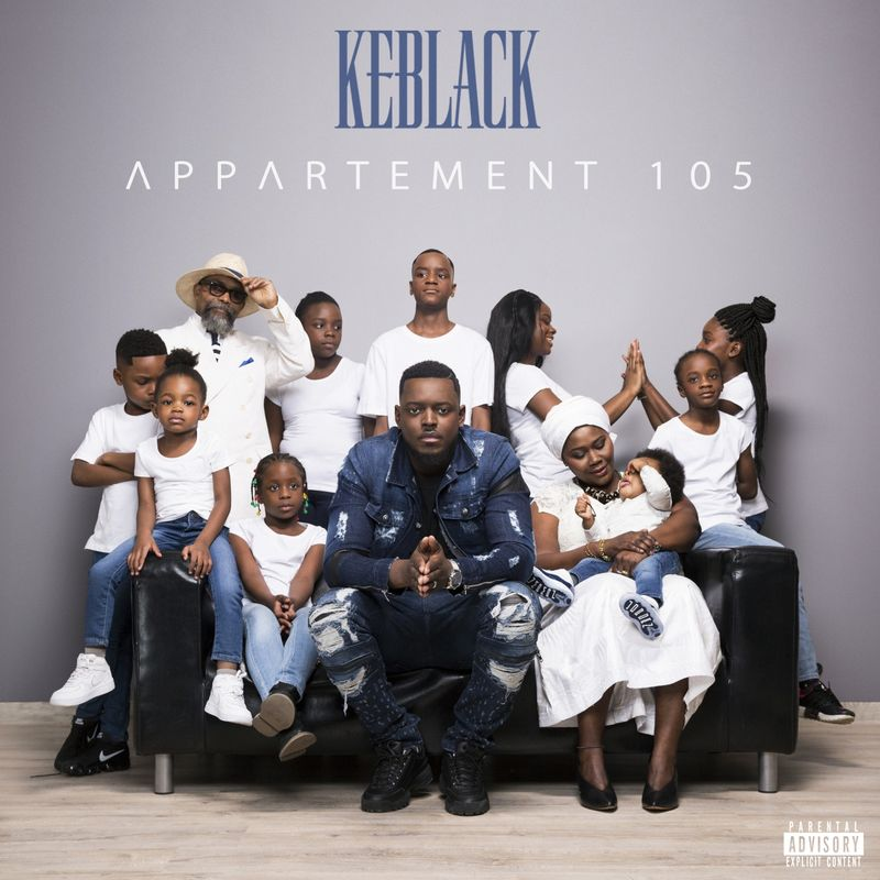 Cover Keblack - Appartement 105 (Explicit) album