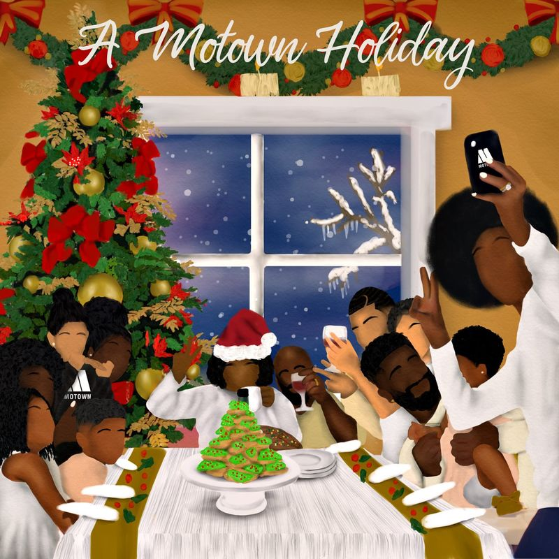 Cover Playlist US - A Motown Holiday (2020) album