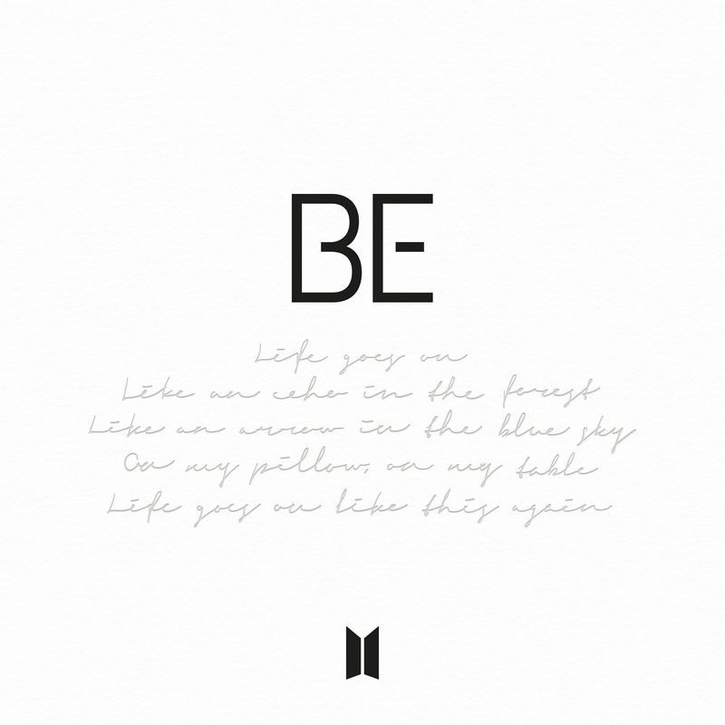 Cover BTS - BE album