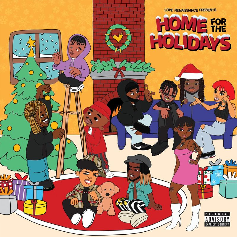 Cover Love Renaissance (LVRN) - Home For The Holidays (Explicit)