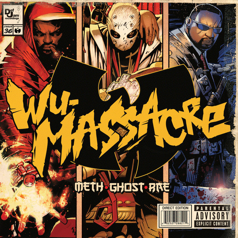 Cover Method Man - Wu Tang Presents…Wu Massacre (Explicit) album