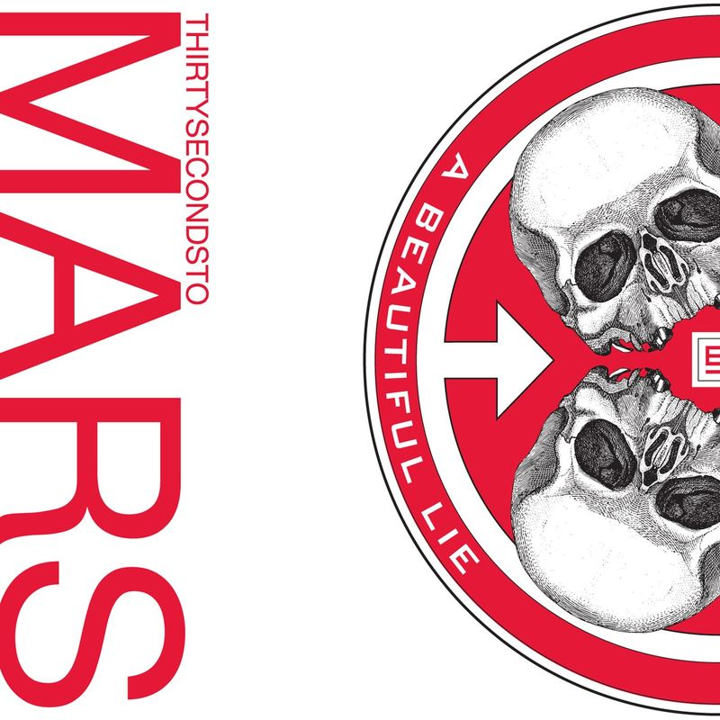 Cover Thirty Seconds to Mars - A Beautiful Lie (2007) album