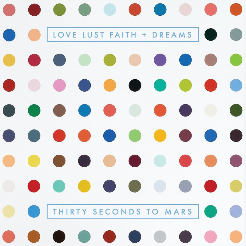 Cover Thirty Seconds to Mars - LOVE LUST FAITH and DREAMS (Explicit) album