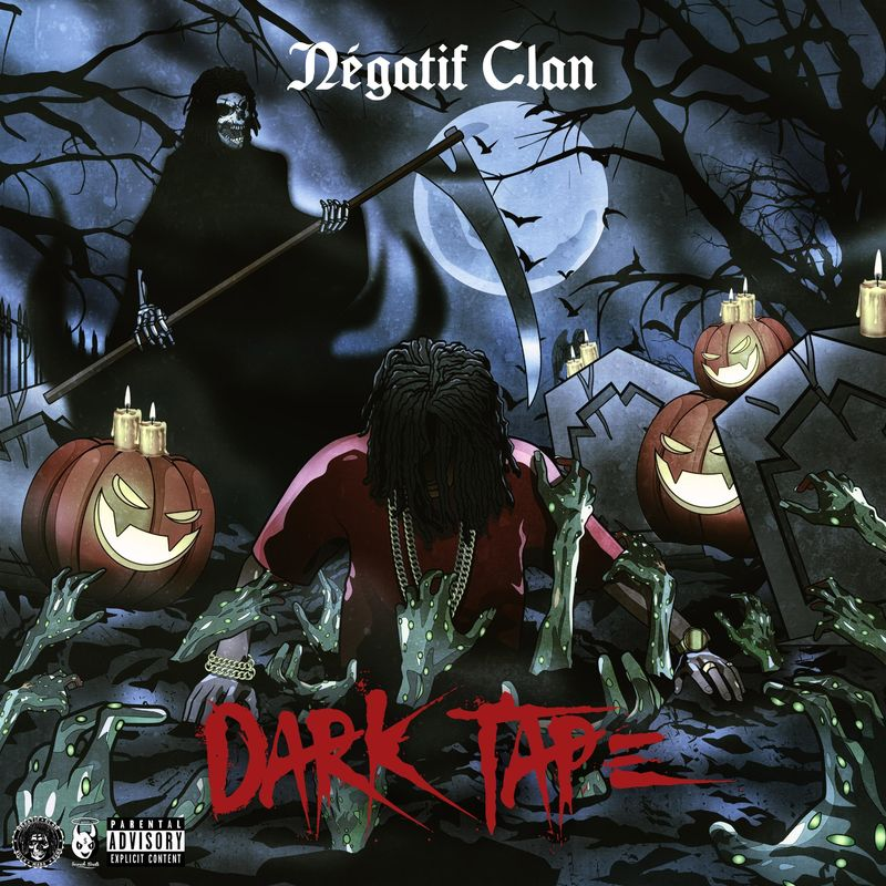 Cover Negatif Clan - DARKTAPE (Explicit)