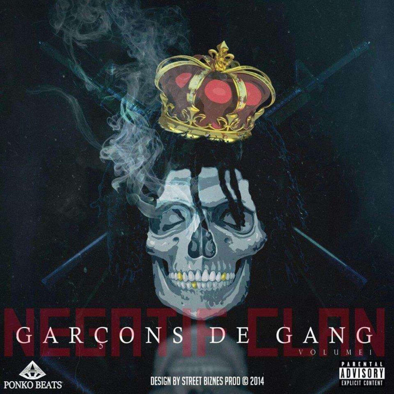 Cover Negatif Clan - Garçon de Gang Vol. 1 (Explicit)