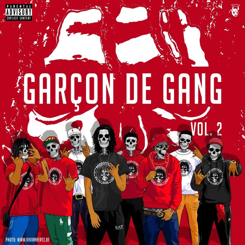 Cover Negatif Clan - Garçon de Gang Vol.2 (Explicit)