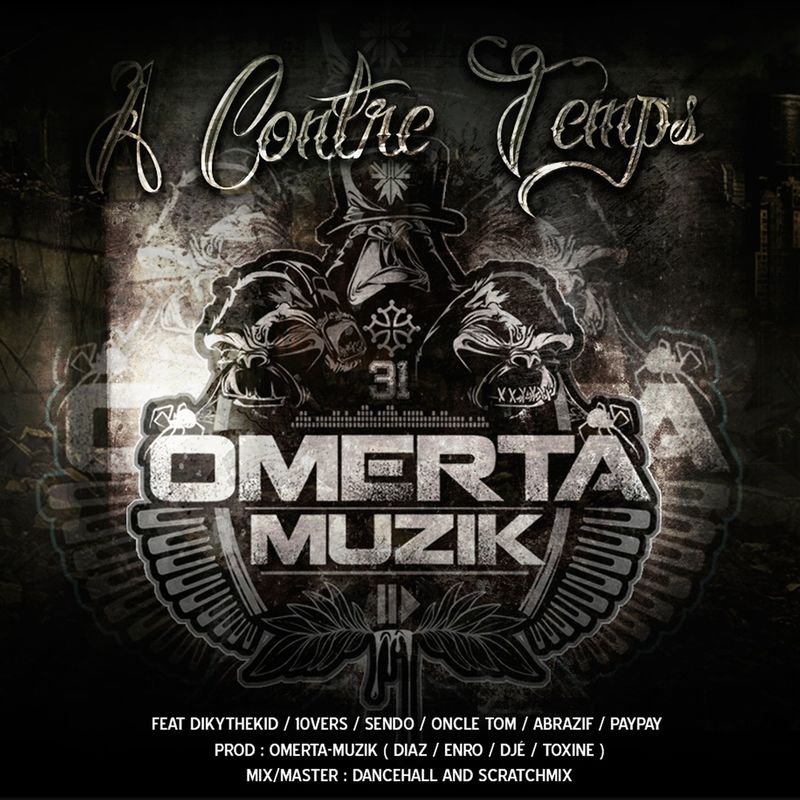 Cover Omerta Muzik - A contre temps (Explicit)