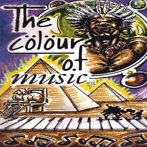 Cover THABITI - The Colour of Music