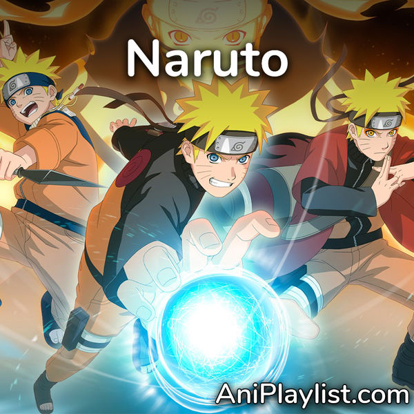 Cover BabioRap Exclus - Naruto x Shipuuden (Openings and Endings) Part.1
