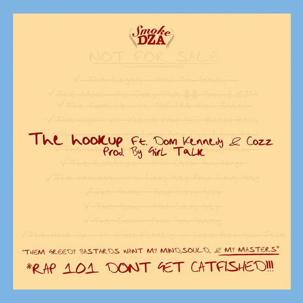 Cover Smoke DZA - The Hook Up (Explicit)