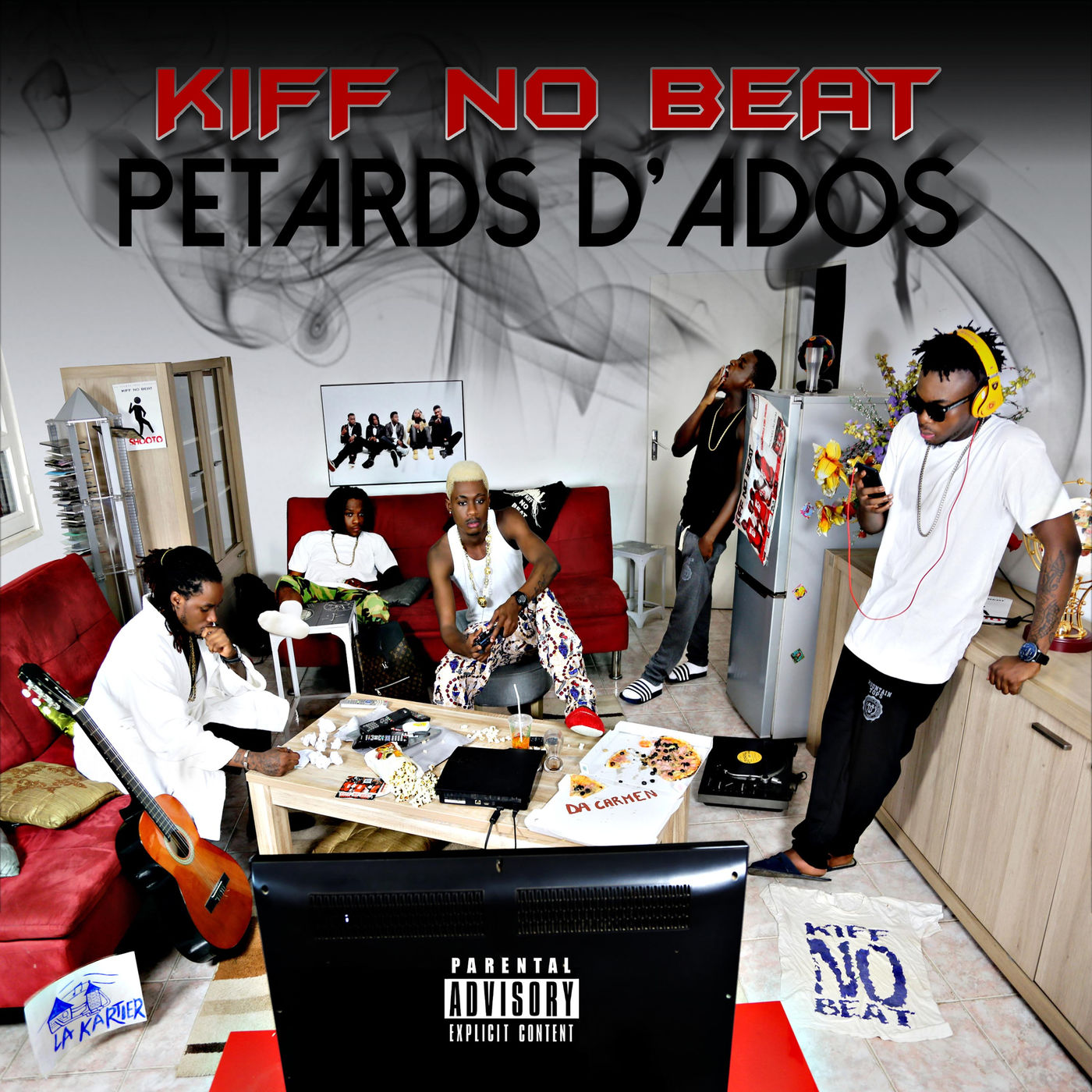 Cover album Pétards d_'ados