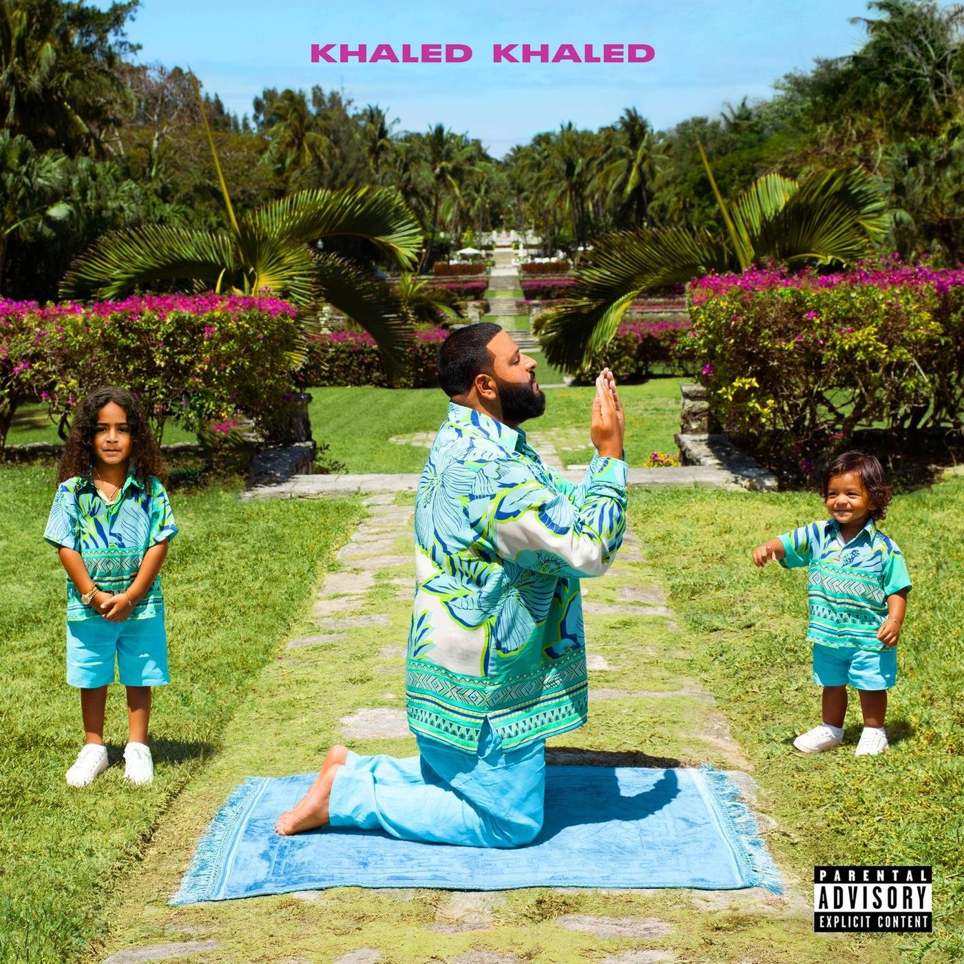 Cover DJ Khaled - KHALED KHALED (Explicit) album