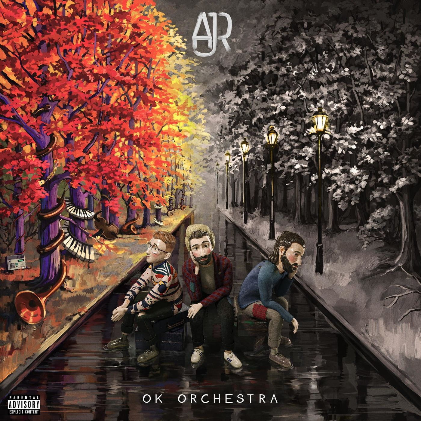 Cover album OK ORCHESTRA (Explicit)