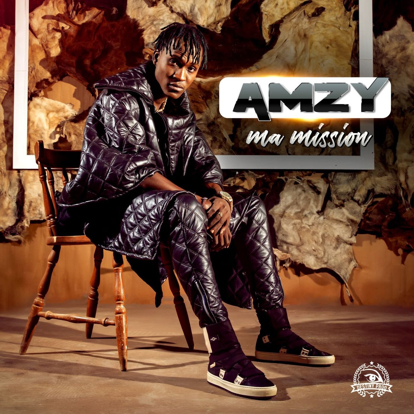 Cover AMZY - Ma mission album