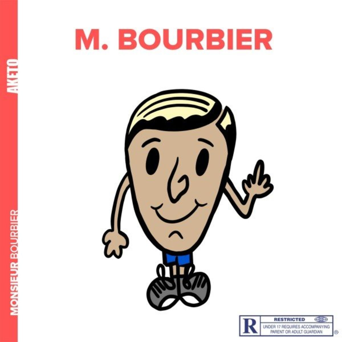 Cover album Monsieur Bourbier