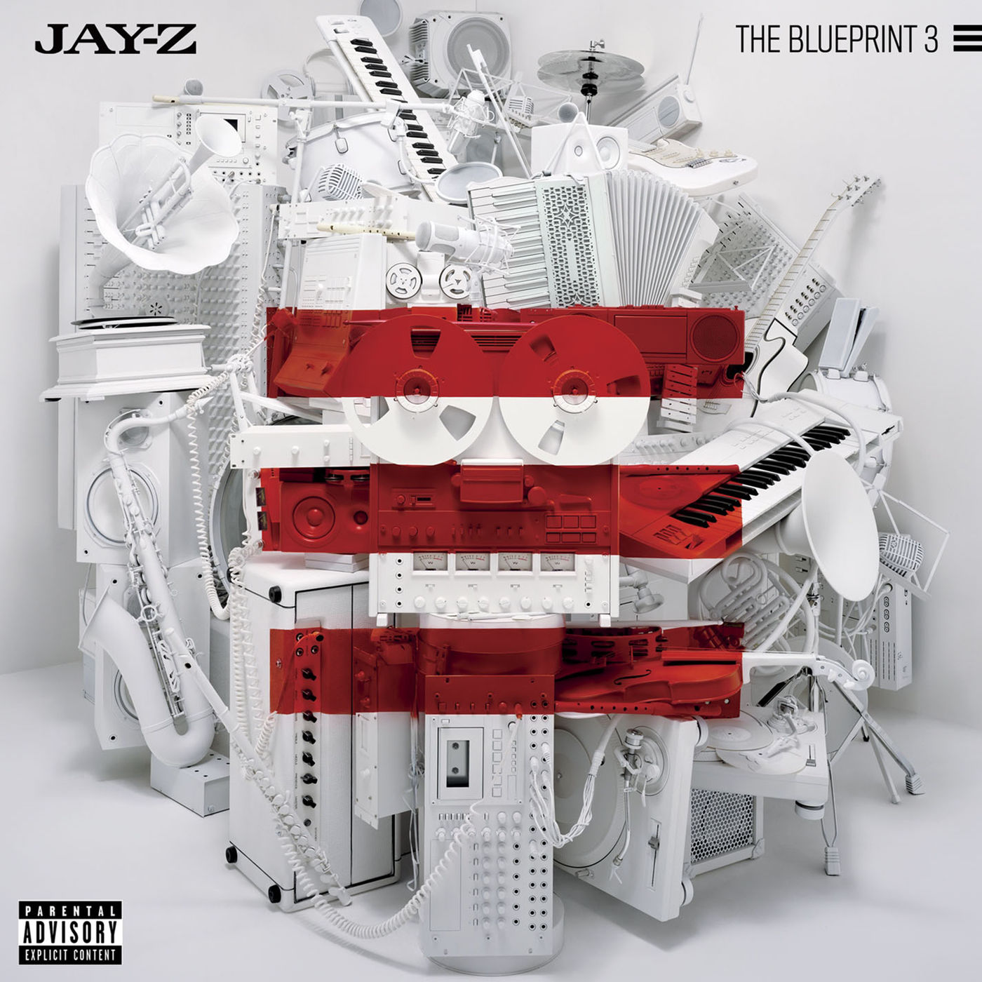 Cover JAY-Z - The Blueprint 3 (Explicit)