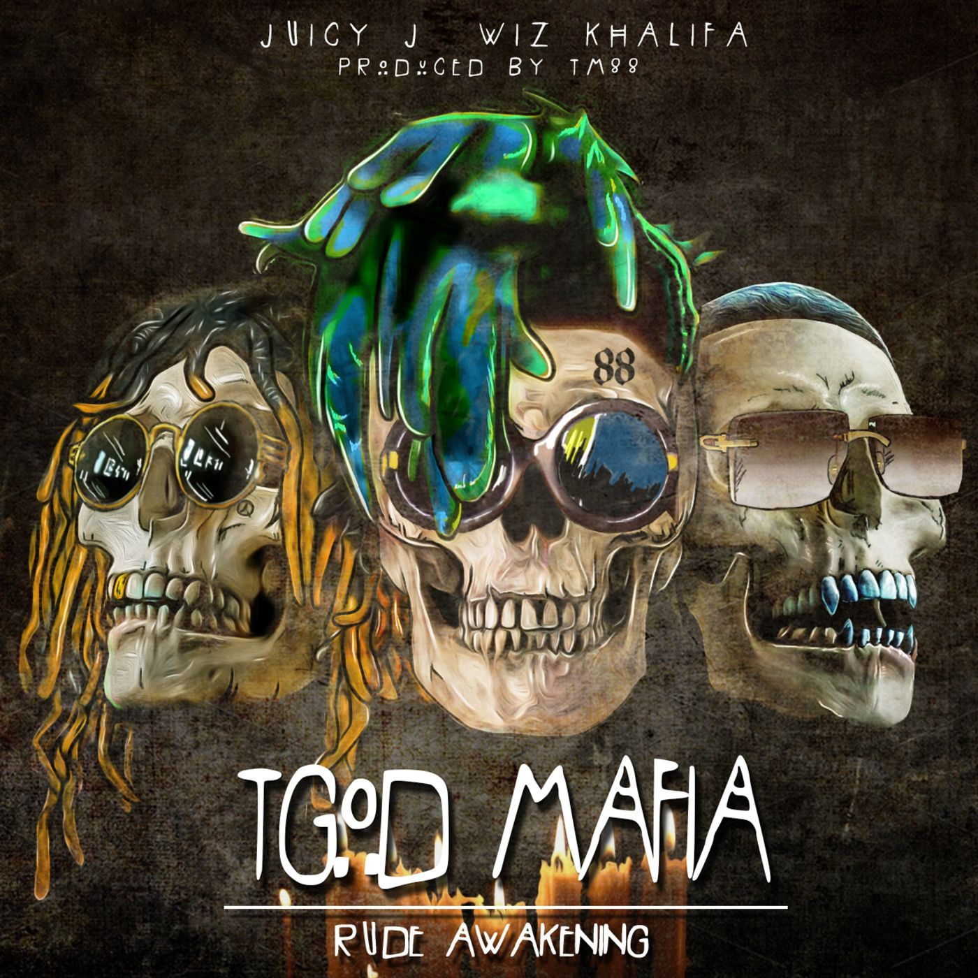 Cover Juicy J - TGOD Mafia_ Rude Awakening