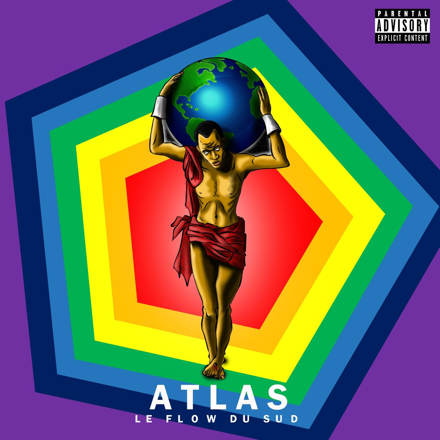 Cover Le Flow Du Sud - Atlas (Explicit)