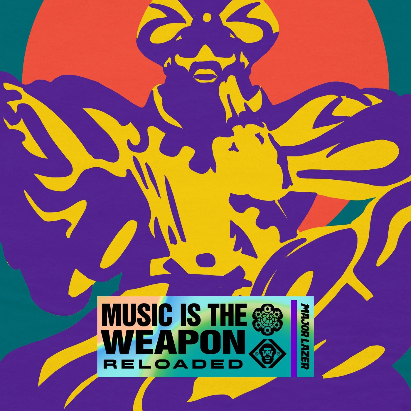 Cover Major Lazer - Music Is the Weapon (Reloaded) (Explicit) album