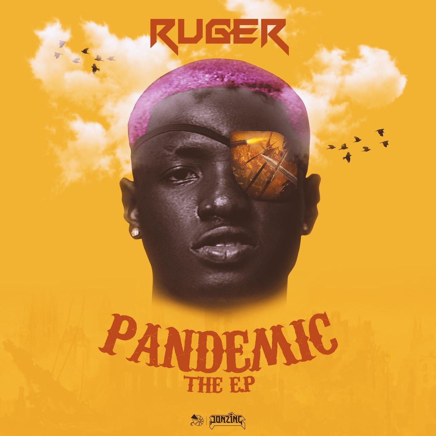 Cover Ruger - PANDEMIC album