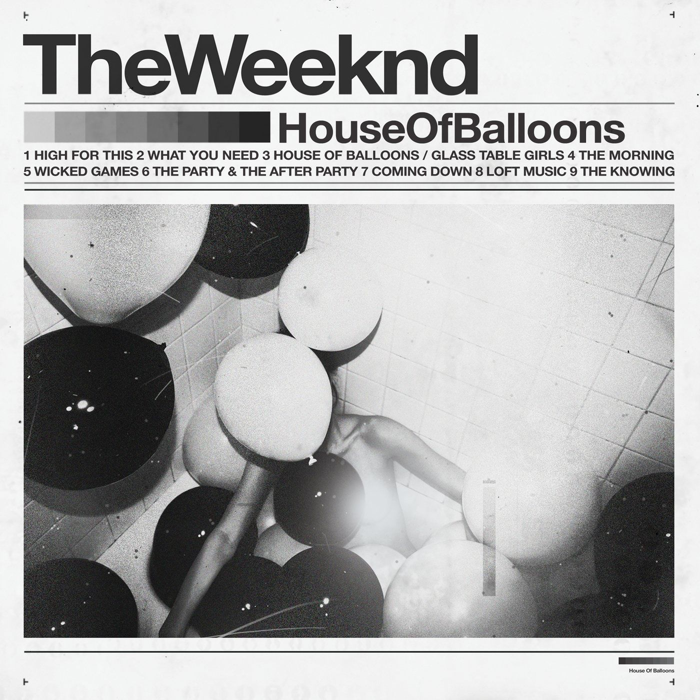 Cover album House Of Balloons (Original) (Explicit)