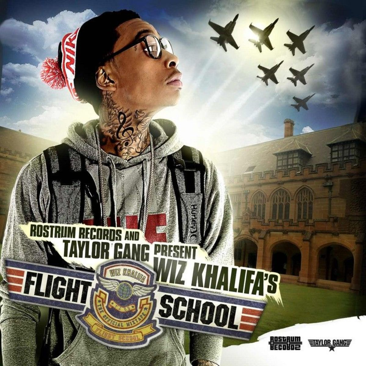 Cover Wiz Khalifa - Flight School (Explicit)