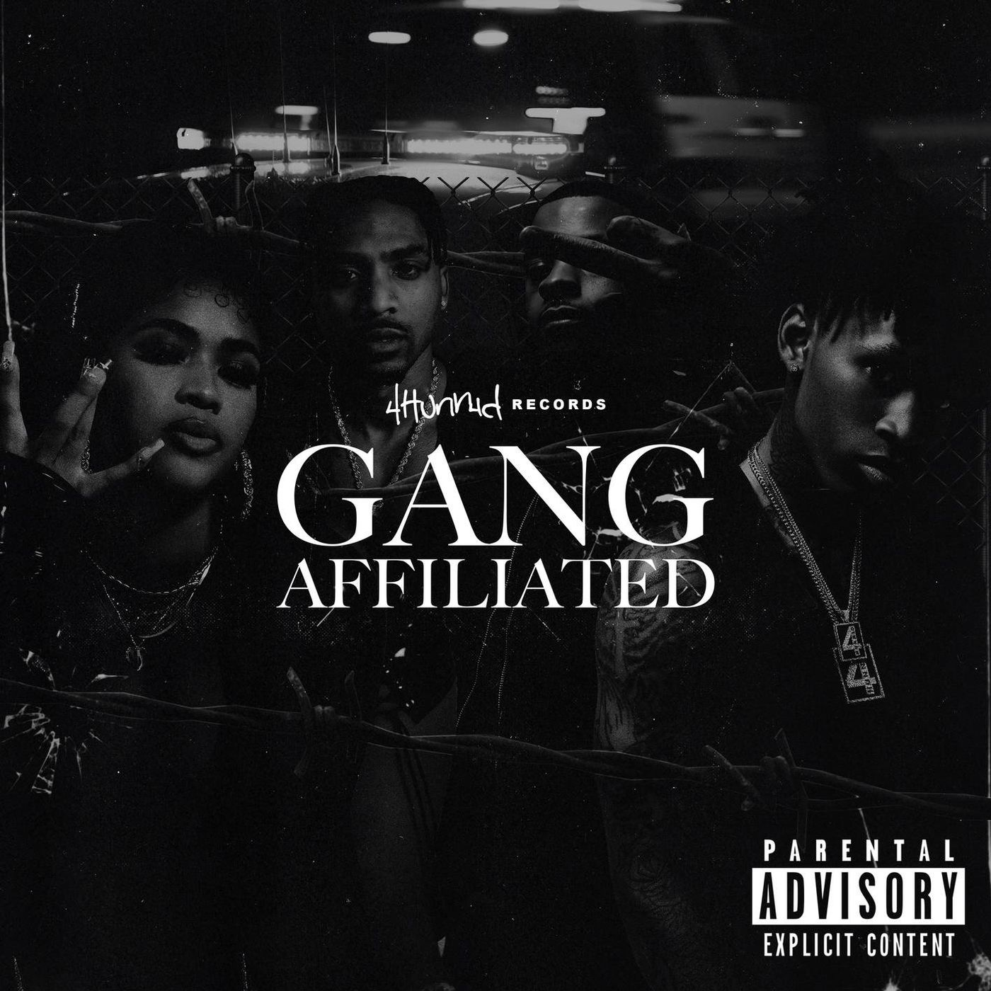 Cover YG - 4hunnid Presents_ Gang Affiliated album