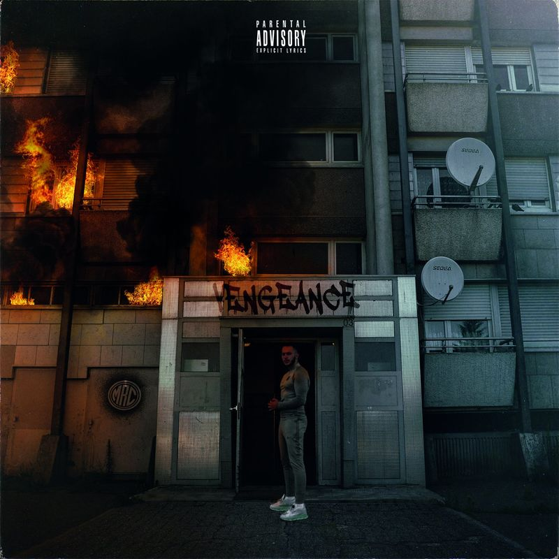 Cover MRC - Vengeance (Explicit) album