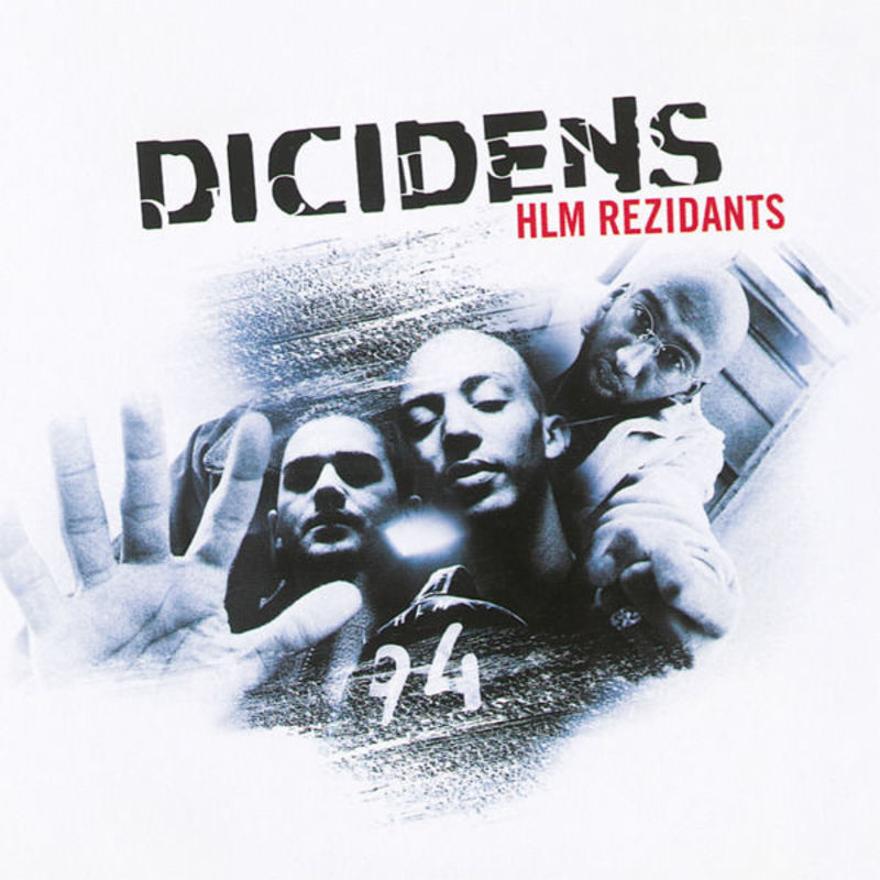 Cover Dicidens - HLM rezidants album