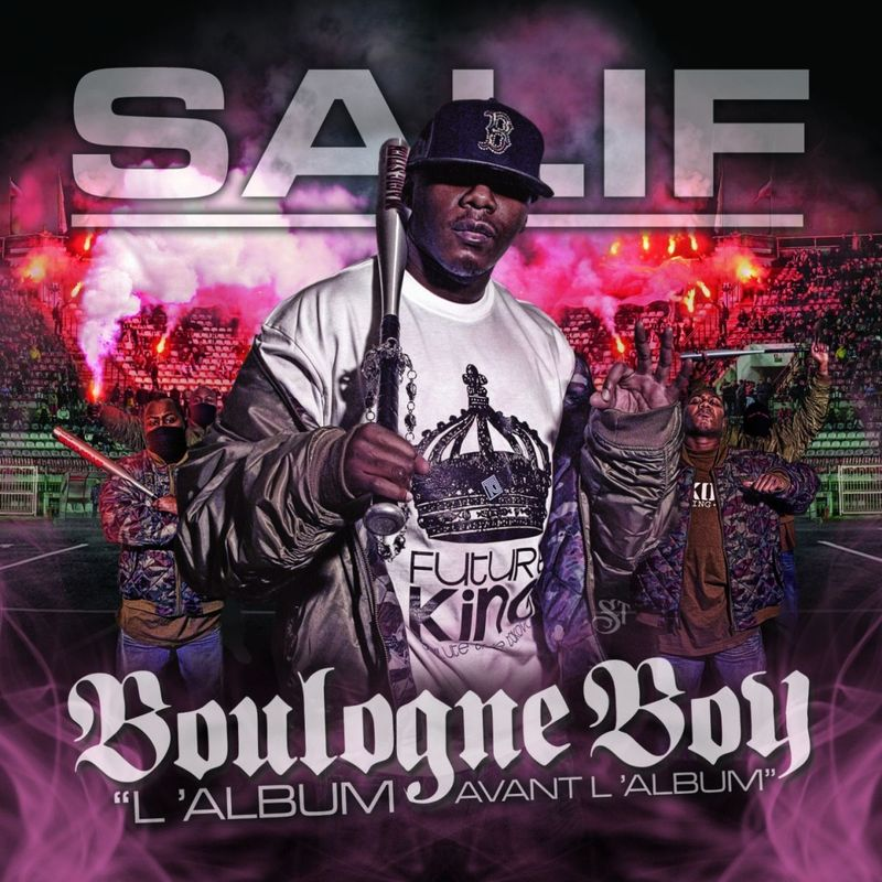 Cover Salif - Boulogne Boy (Explicit) album