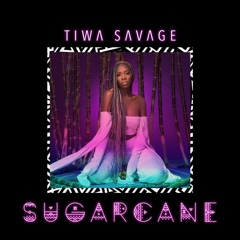 Cover Tiwa Savage - Sugarcane album
